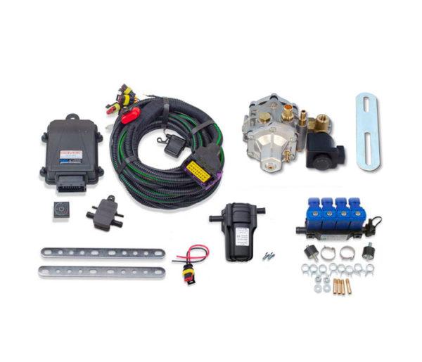 Комплект SAVER-4 (TOMASETTO AT12 3800 метан 110 kw) с фильтром ULTRA